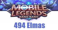 Mobile Legends 494 Elmas