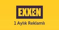 Exxen 1 Aylık Üyelik (Reklamlı)