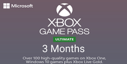 Xbox Live Game Pass Ultimate 3 Ay