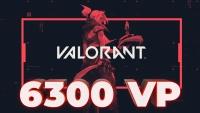 6.300 Valorant Points (TR)