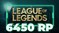 6450 Riot Points (TR)