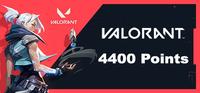 4400 Valorant Points (6450 RP)