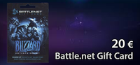 Battle.net 20 € Gift Card