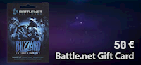 Battle.net 50 € Gift Card
