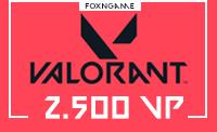 2500 VP Valorant Points