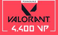 4400 VP Valorant Points