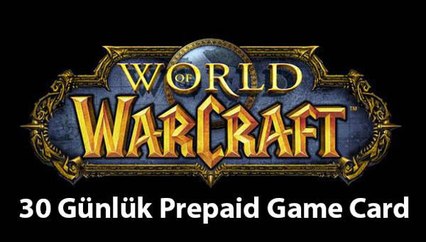 World of Warcraft 30 Günlük Prepaid Game Card
