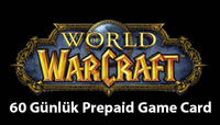 World of Warcraft 60 Günlük Prepaid Game Card