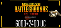 6000+2400 UC PUBG Mobile Unknown Cash