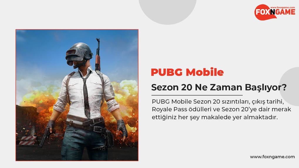 PUBG Mobile Sezon 20 Ne Zaman Başlıyor?
