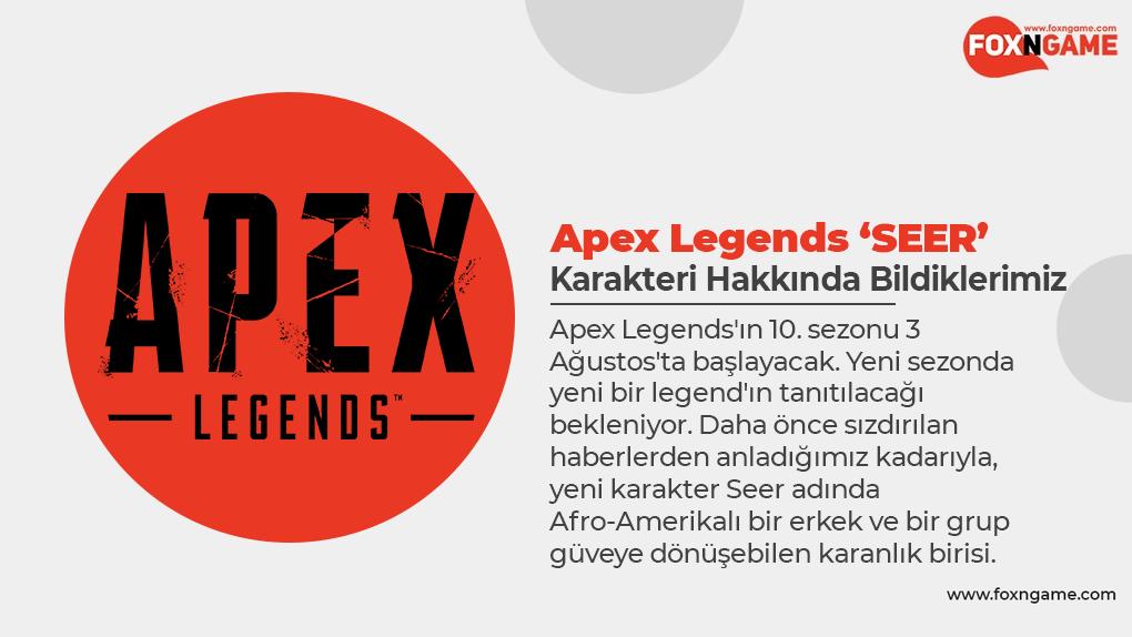 Apex Legends 'SEER' Karakteri Hakkında Bildiklerimiz