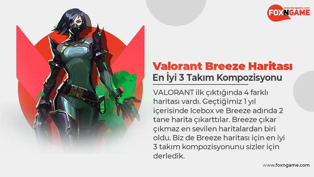 Valorant Breeze Haritası için En İyi 3 Takım Kompozisyonu