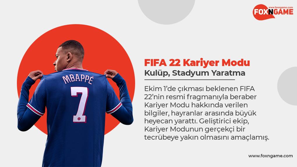 Kariyer Modu FIFA 22'ye Hangi Yenilikleri Getirecek?