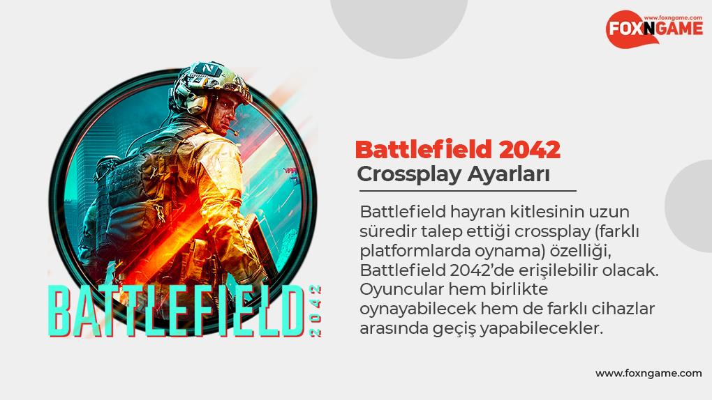 Battlefield 2042 Crossplay Ayarları