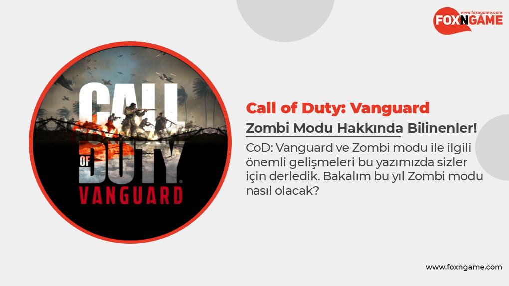 Call of Duty: Vanguard Zombi Modu Ne Zaman Çıkıyor