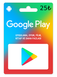 Google Play Hediye Kodu 25TL