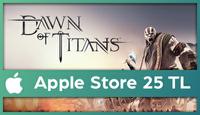 Dawn of Titans Apple Store 25 TL