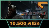 Sabotaj 10.500 Altın