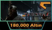 Sabotaj 180.000 Altın