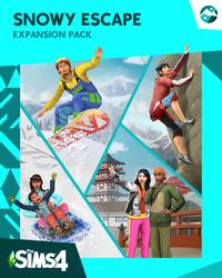 The Sims 4 Snowy Escape DLC