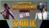 32400 PUBG Mobile UC