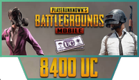8400 PUBG Mobile UC