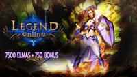 7500+750 Legend Online Elmas