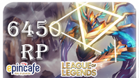 6450 RP Riot Points TR