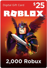 Roblox 25 USD (2000 Robux)